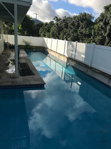 Kaneohe, Kualoa MCBH duplex home-30 day minimum