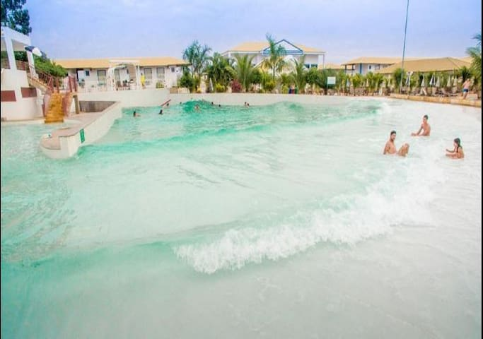 Apto Lacqua diRoma I,Parque exclusivo para hóspede