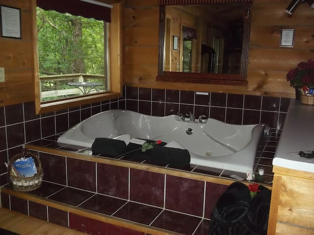 Relax in the whirlpool
