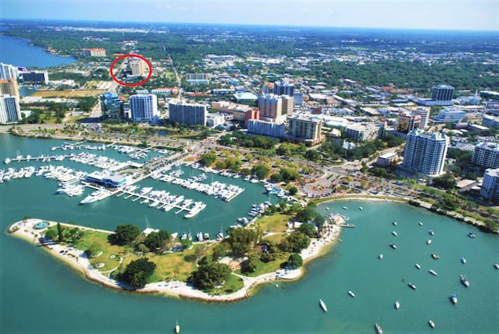 Dreamy Downtown Sarasota Vacation home! Lovely!