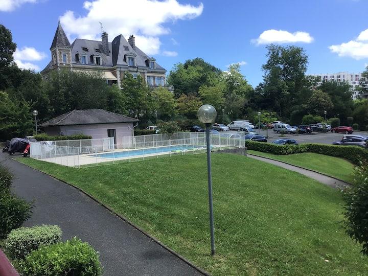 Appartement Bayonne au calme avec piscine