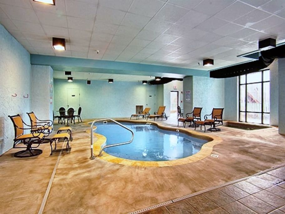 Indoor Pool in resorts community area