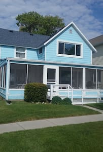 Large cottage with private beach on Lake Huron - Port Huron - Hus