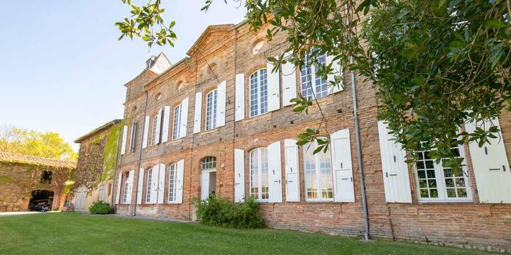 Château de Coulom proche Toulouse