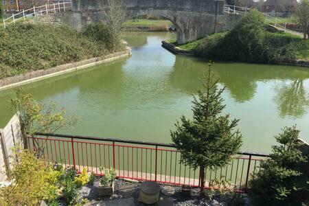 Waterside property near Bradford on Avon