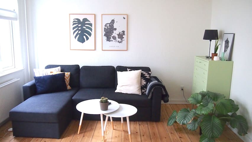 Charming 3-room apartment in the city centre - Aarhus - Apartment