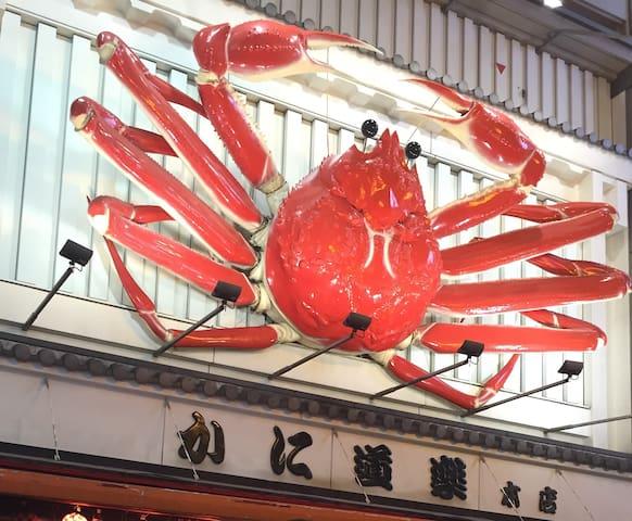 5mins walk from Dotonbori and Namba - 大阪市 - Apartment