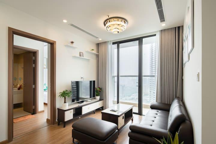 VipHome20#Luxury Apt 2BR Vinhomes Skylake#Tower