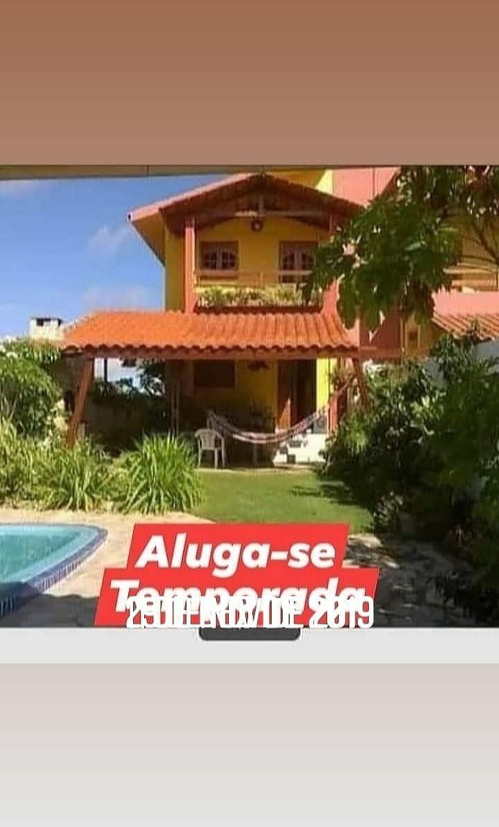 Linda casa de praia Carapibus PB
