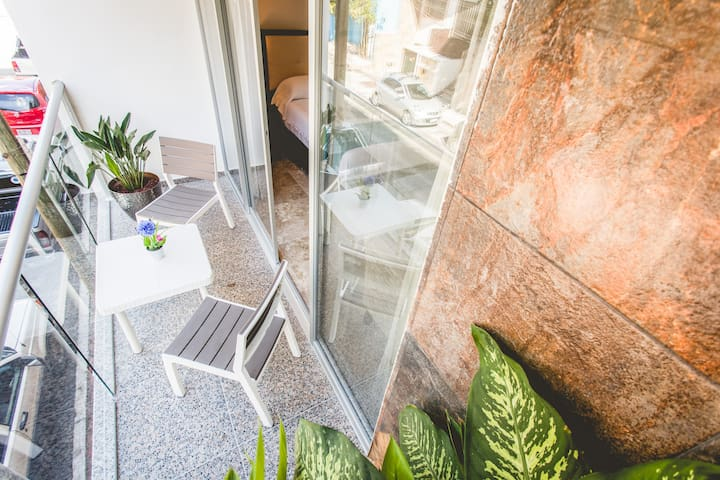 Your own private balcony.