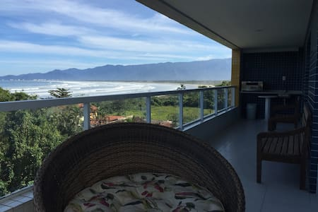 Ocean Front Apartment - Bertioga - Brazil - Bertioga