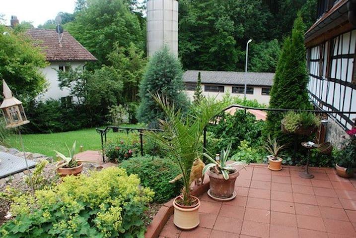 Glattbacher Hof - Ferienwohnungen im Odenwald Ap10 - Lindenfels - Ferienunterkunft