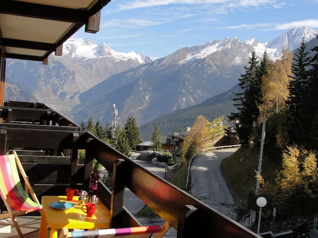 Courchevel, Gorgeous View, Garden, bbq, Free lifts
