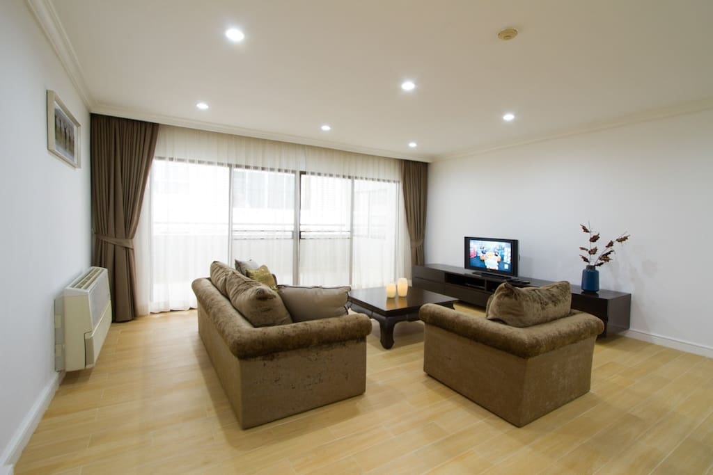 Shared Living & Dining Space