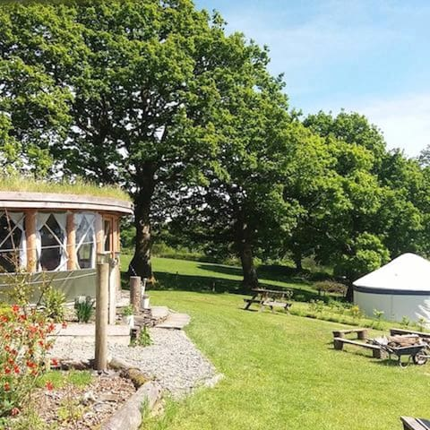 Fron Farm Yurt Retreat - Kite Yurt - Llanboidy - Yurta