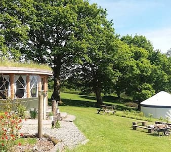 Fron Farm Yurt Retreat - Kite Yurt - Llanboidy - Jurta