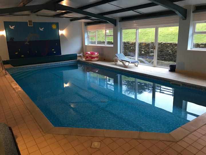 Galford Springs - Large barn - Private Indoor Pool