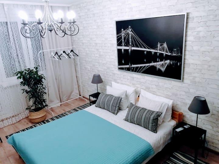 Уютные апартаменты в Боровлянах