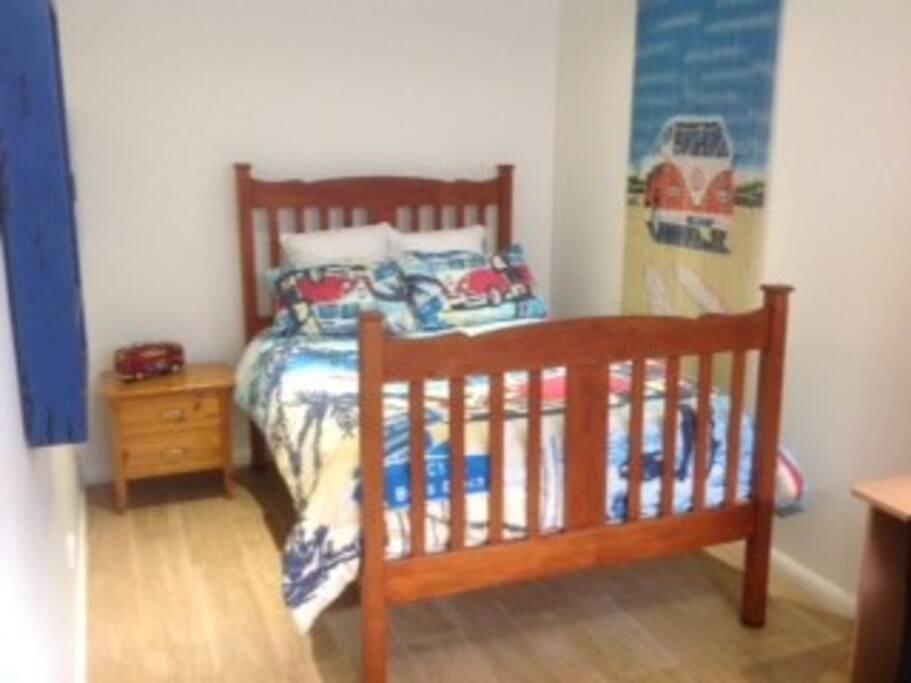 Bondi double bedroom