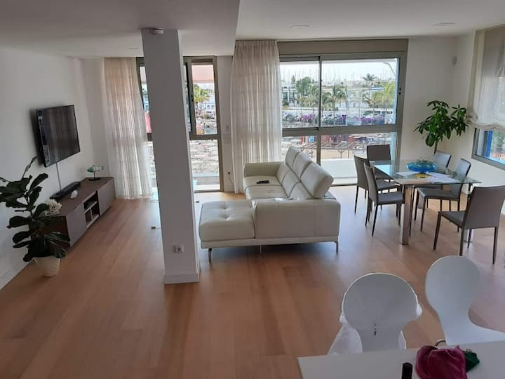 First line loft in Playa de Mogan