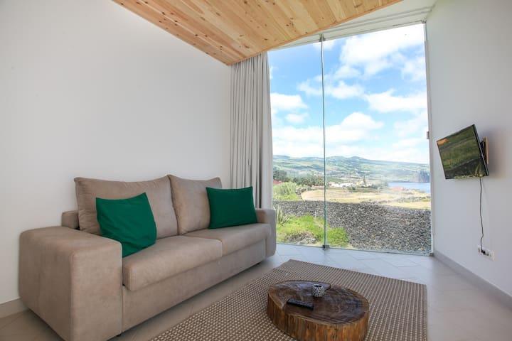 Apartamento com 1 quarto vista mar - Ponta Delgada - Lejlighed