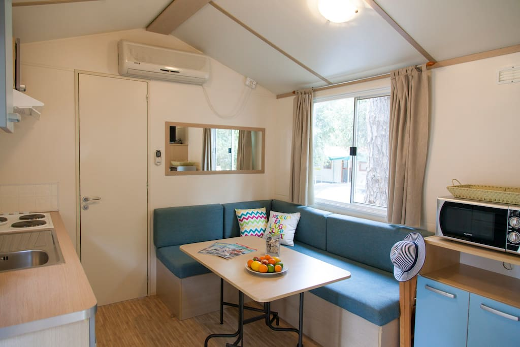 Mobilhome living room