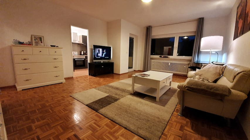 Livingroom Rodgau - Studio Apartment
