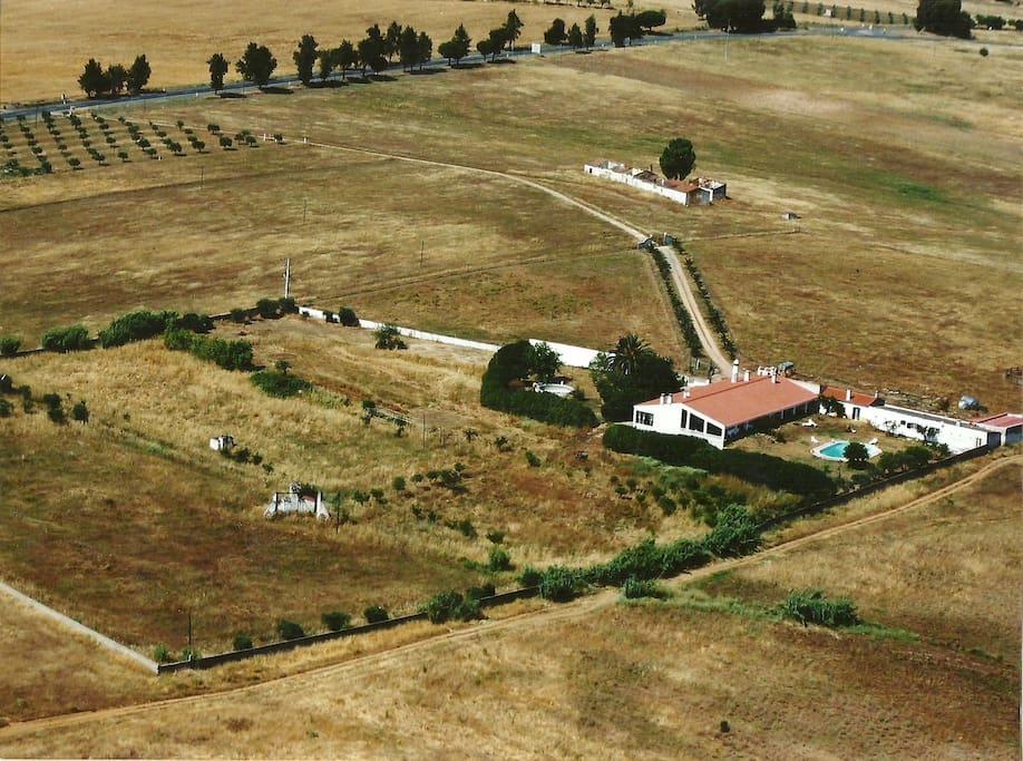 Alentejo farm house cinegetic herdade agachas1 maisons - La maison monte na comporta au portugal ...