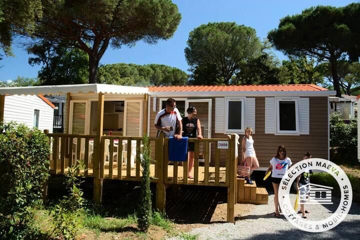 Mobil Home Luxe 4 Pièces 6 Personnes Climatisé + TV 143734