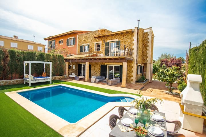 Villa petit amoure 10 huéspedes + invitados.......
