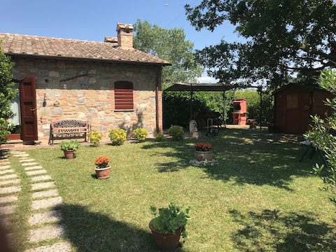Baiadera in Casale Storico with a swimming pool