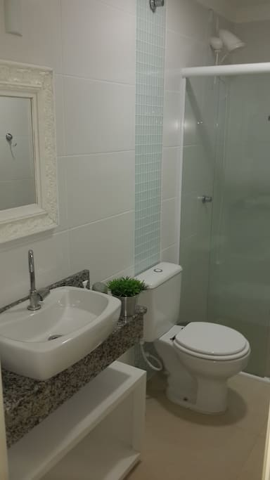 Banheiro social apartamento