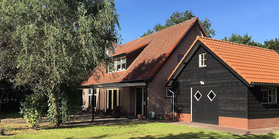 "Romantisch buitenverblijf,  ""Hulshorst Lodge"" - Hulshorst - Rumah"