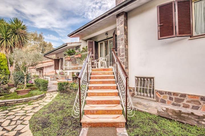 Residence Antica Via Ostiense - Green Room