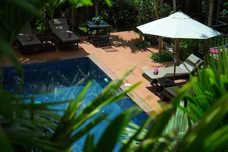 Areca Boutique Villa - Breakfast, Airport Pick Up - Krong Siem Reap - 住宿加早餐