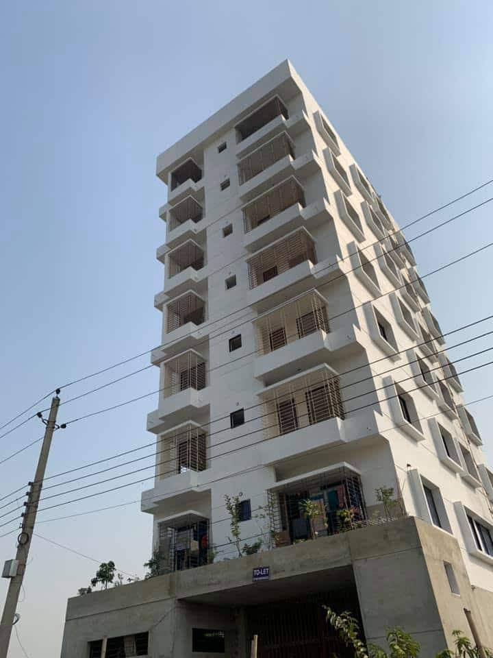 Private Studio Flat in Uttara Dhaka East Face