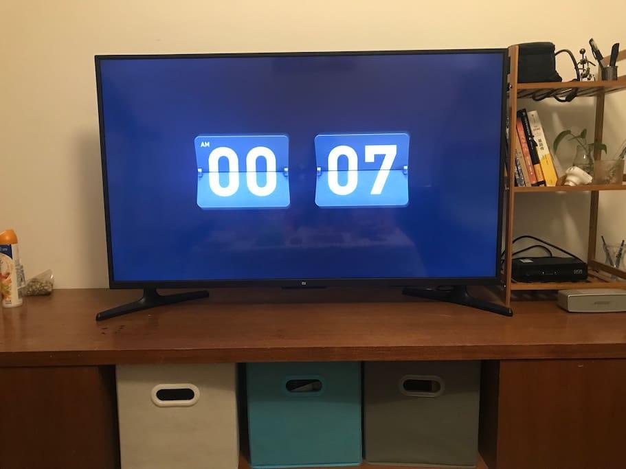 独享小米49寸电视机