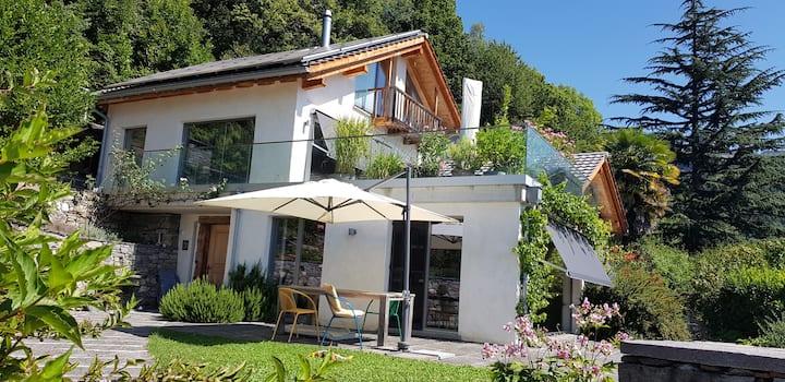 Traum Villa Alpensüdseite mit Berg-Panorama