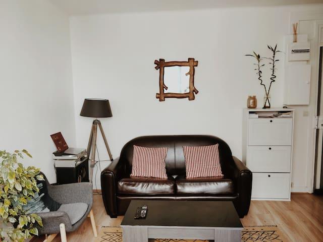 Bois Colombes :appartement cosy, 15 min de  Paris.