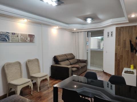 Apartamento Premium Completo 2Q Suíte WIFI
