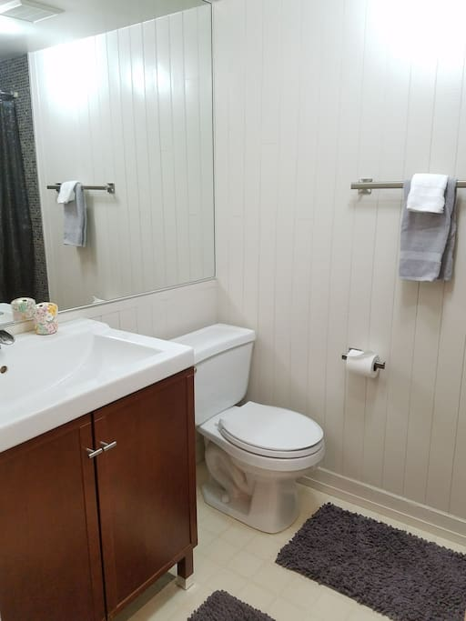 Private bathroom 3/4