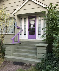 charming private semi-detached vintage 1 bdrm loft - Corvallis - Διαμέρισμα