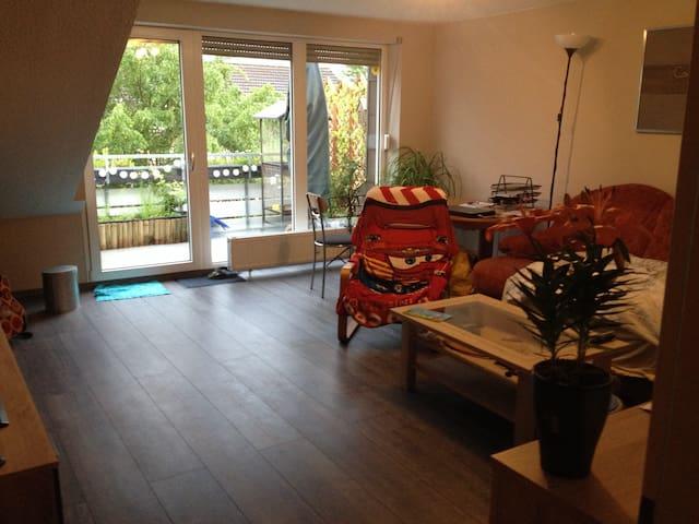Tor zum Ruhrgebiet und Niederrhein - Dinslaken - Appartement