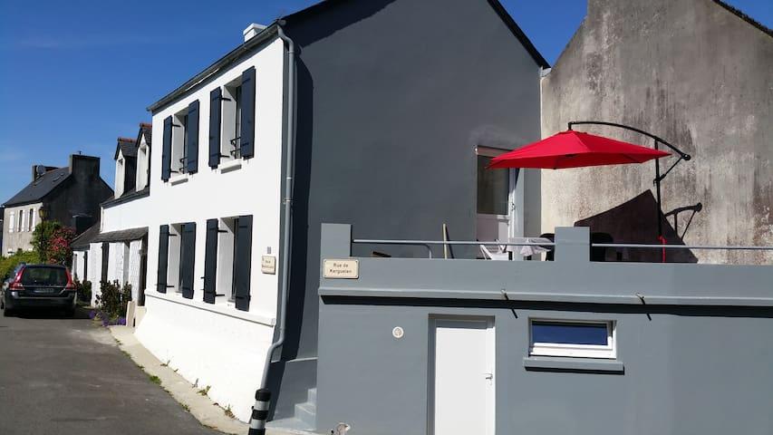 Maison en baie de Morlaix
