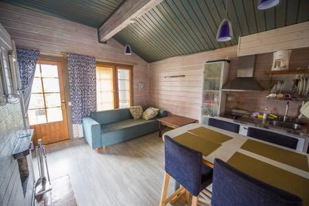 Дом у озера с сауной и камином - Taipalsaari - Dům
