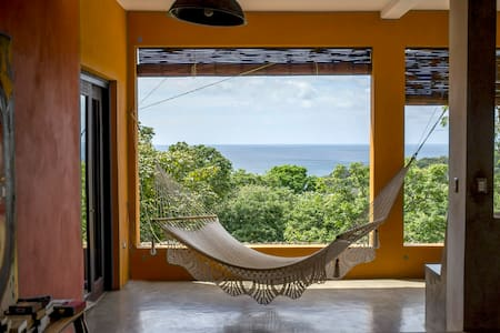 The Art & Surf beach house - Room 2 - San Juan del Sur - Hus