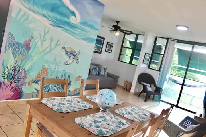 Caribbean Beach Villa, Aquatika Resort - 8 Guests