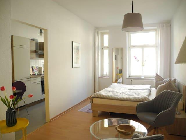 Ruhige Wohnung in Leipzigs Südvorstadt - Leipzig - Condomínio