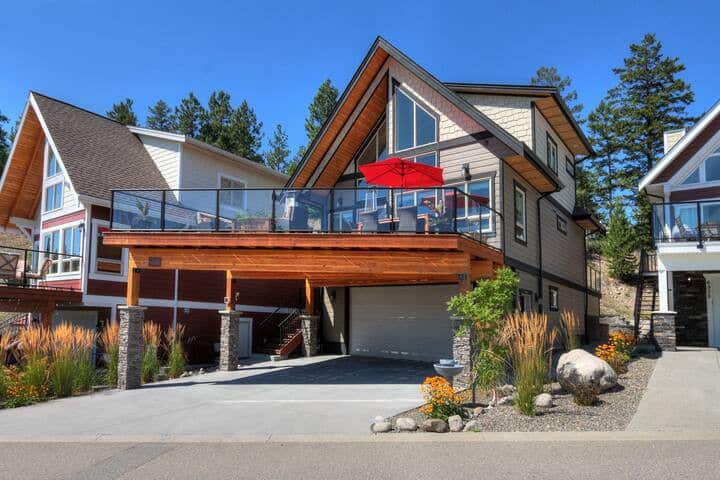 Kelowna amazing house with view on Lake Okanagan