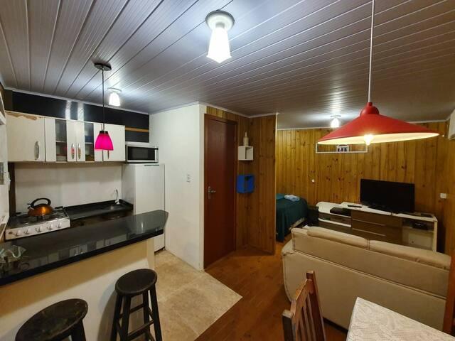 Mini house, praia da Pinheira